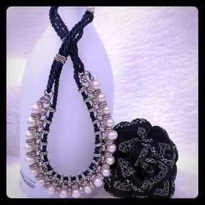 Lia Sophia Signature Pearl Necklace